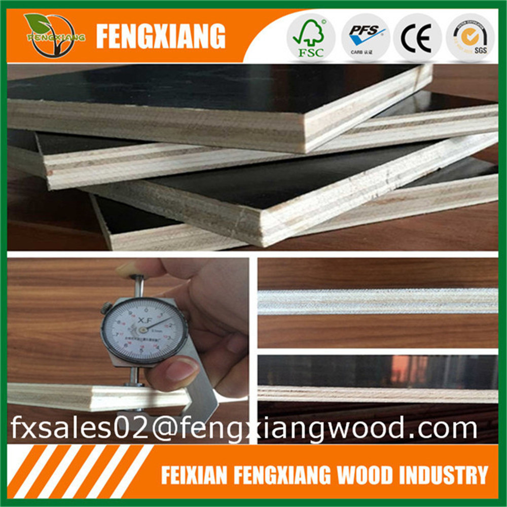 concrete construction 12mm 15mm 18mm film faced plywood